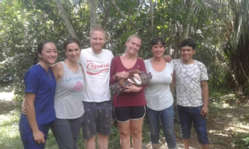 Volunteer with NGO Amazon Shelter for Animal And Enviromental Protection