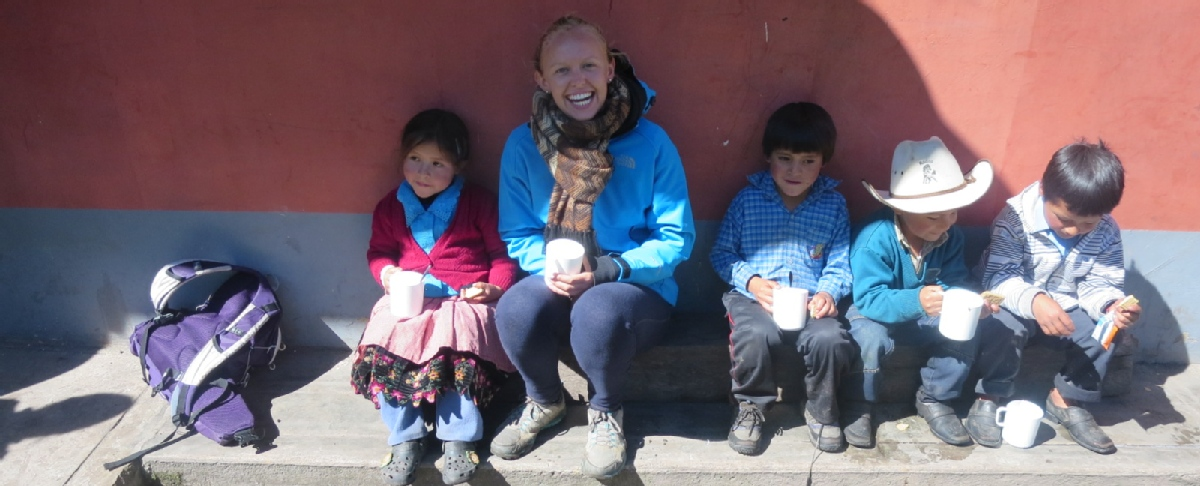 Volunteer with NGO ANDEAN SMILES