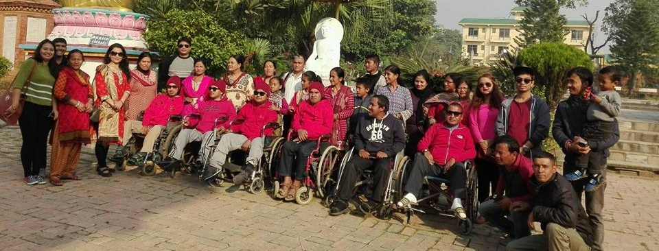 Volunteer with Muscular Dystrophy Child Care Society Nepal