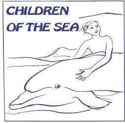 Volunteer with Children of the sea