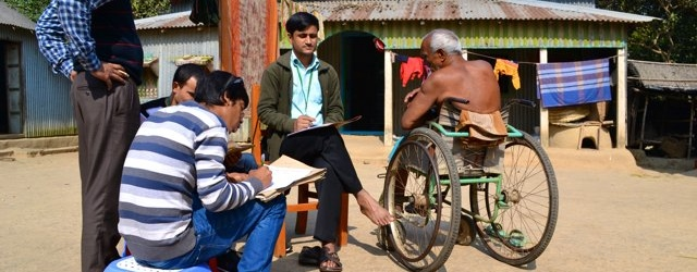 Volunteer with Centre for the Rehabilitation of the Paralysed (CRP)
