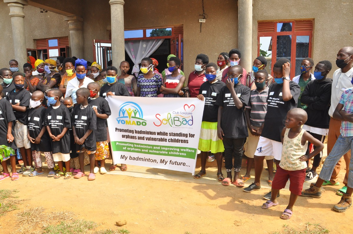 Volunteer with Youth Mentoring Agents for Development Organisation (YOMADO)