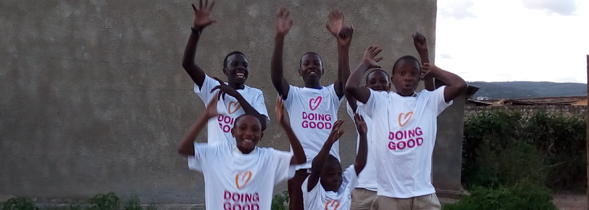 Volunteer with Grassroots Moved for Development of Uganda