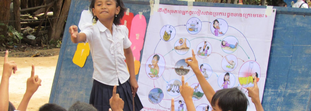 Volunteer with Child Rights Cambodia
