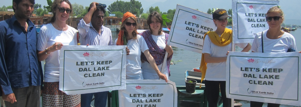 Volunteer with Silver Earth India