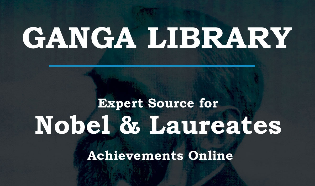 Volunteer with Ganga Library, Online, Nobel and Laureates Library