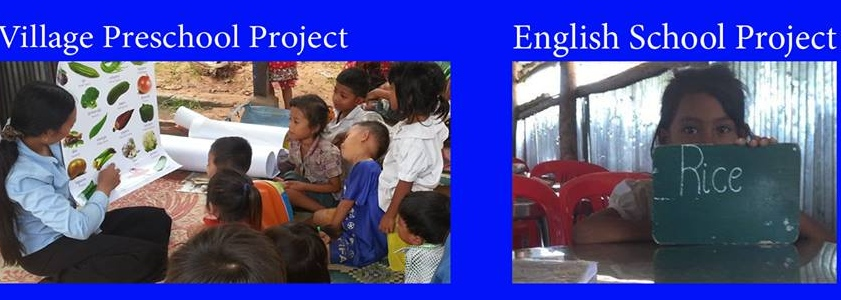 Volunteer with Cambodian Children