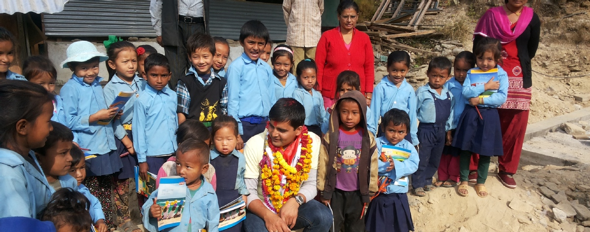 Volunteer with Ganesh Himal community Foundation
