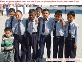 Volunteer with Mission Education Nepal