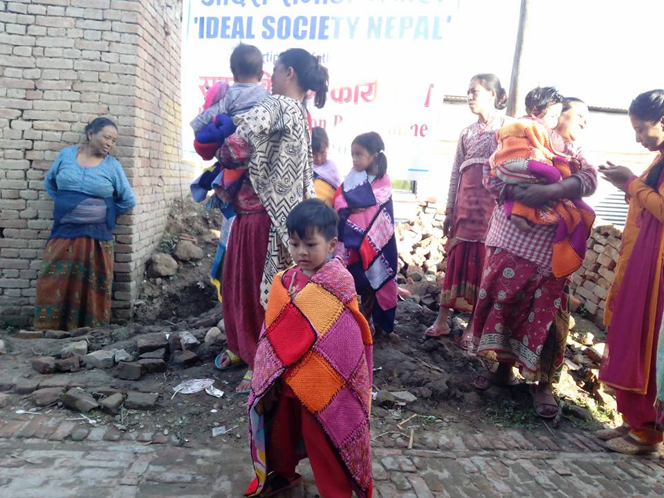 Volunteer with Ideal Society Nepal