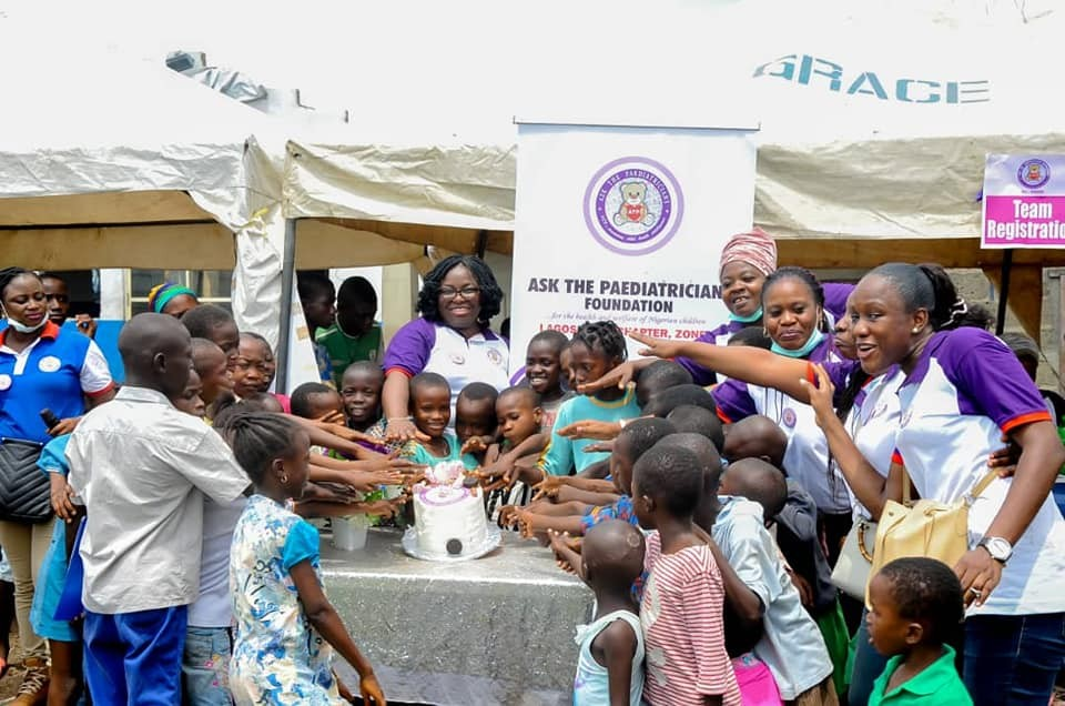 Volunteer with Ask The Paediatricians Foundation