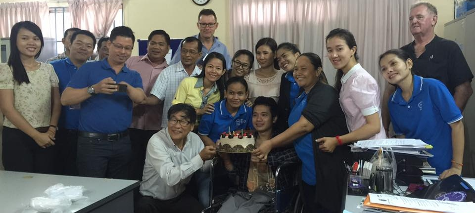 Volunteer with Cambodian Disabled People's Organization (CDPO)