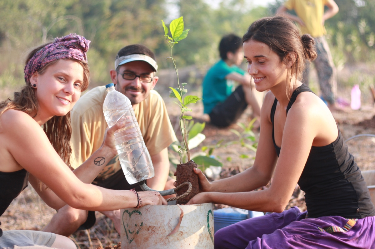 Volunteer with Sadhana Forest India