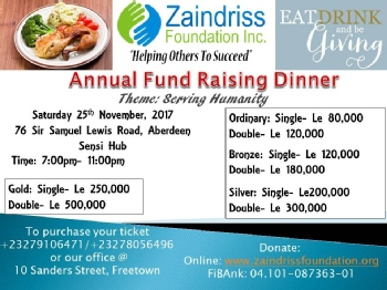 Volunteer with Zaindriss Foundation, Inc