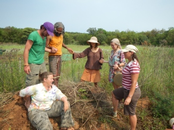 Volunteer with Happy Toes Permaculture Project