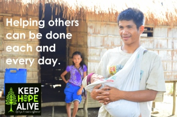 Volunteer with Keep Hope Alive