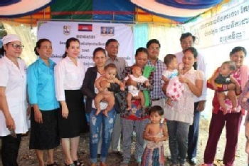 Volunteer with Poor Family Development (PFD)