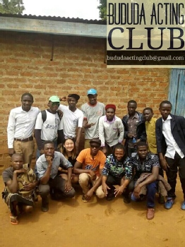 Volunteer with Bududa Acting Club
