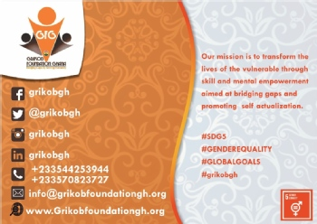 Volunteer with GRIKOB FOUNDATION GHANA
