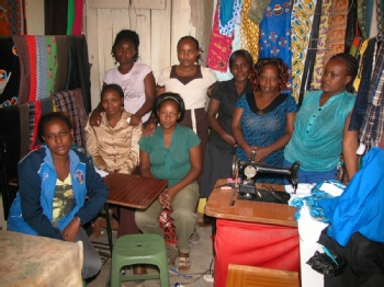 Volunteer with JITEGEMEE TOTAL SELF HELP WOMEN GROUP