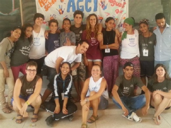 Volunteer with Association Generations for International Workcamps