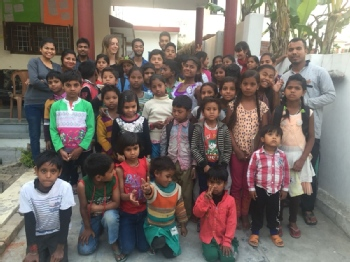 Volunteer with Pratishtha Foundation