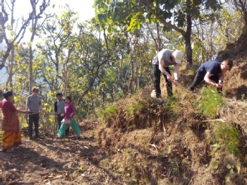 Volunteer with Himalaya Organic Farm Nepal