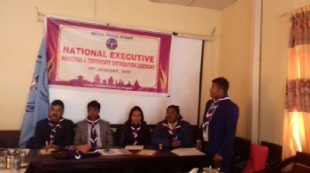 Volunteer with Nepal Peace Scouts