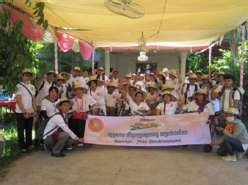 Volunteer with Phnom Penh Center for Independent Living (PPCIL)