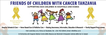 Volunteer with FRIENDS OF CHILDREN WITH CANCER TANZANIA