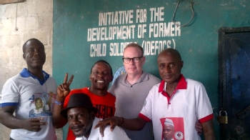 Volunteer with Initiative for the Development of Former Child Soldiers (IDEFOCS)