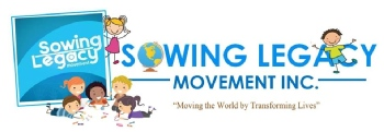 Volunteer with SOWING LEGACY MOVEMENT, INC.