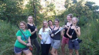 Volunteer with Lilongwe Wildlife Trust