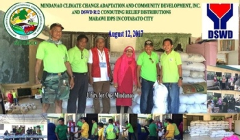 Volunteer with Mindanao Climate Change Adaptation and Community Development, inc.