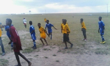 Volunteer with Inkwenkwezi Youth Development Sporting Foundation