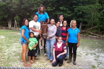 Volunteer with Heal a Horse Cozumel Sanctuary