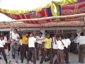Volunteer with Bodhgaya Children Aid Charitable Trust