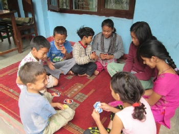Volunteer with Disabled and Helpless Children New Life Center Nepal