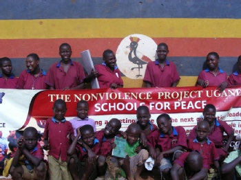 Volunteer with Nonviolence Uganda