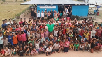 Volunteer with Samart School Eco NGO