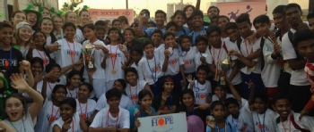 Volunteer with The Hope Foundation UK