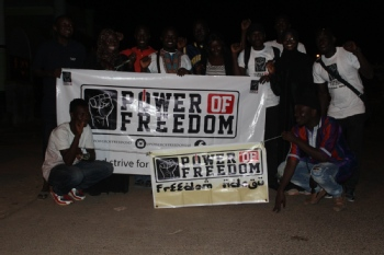 Volunteer with Power Of Freedom