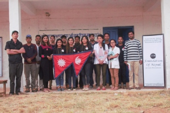 Volunteer with Foundation of Nepali Society