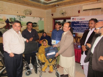 Volunteer with NDF Pakistan (National Disability & Development Forum)