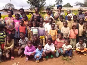 Volunteer with Hope for Vulnerable Children Association